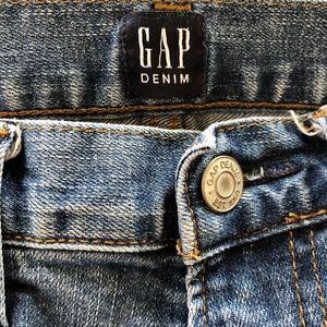 GAP Denim Slim Straight Leg Jeans